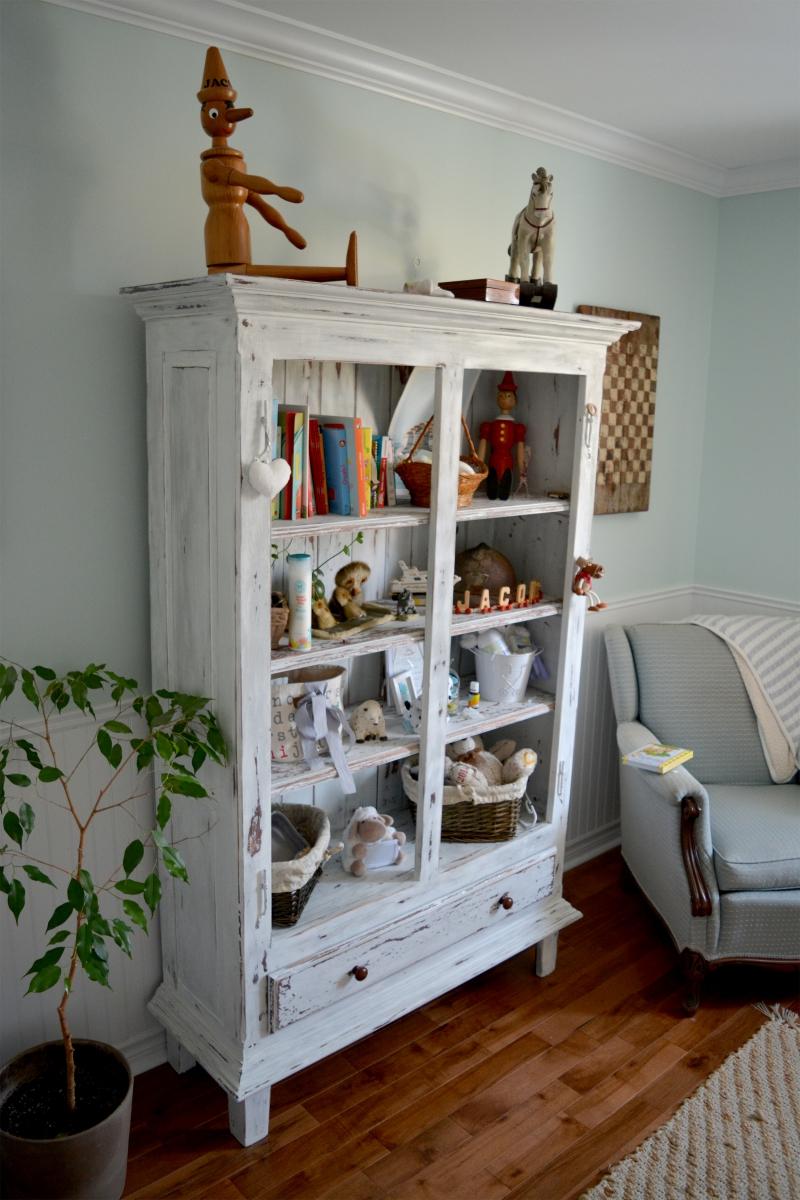 armoire tag re biblioth que rustique shabby chic annonce gratuite mon produit. Black Bedroom Furniture Sets. Home Design Ideas