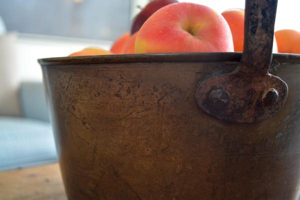 Chaudron en cuivre antique4