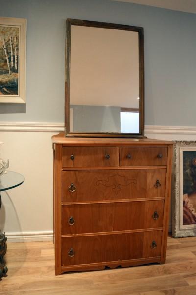 Commode ou table à langer 5 tiroirs en bois2
