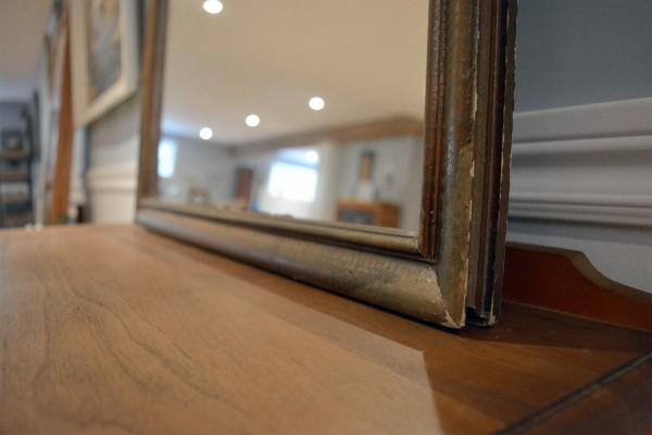 Miroir à cadre antique rustique4
