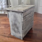 Table de chevet, meuble shabby chic rustique3