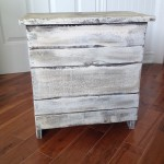 Table de chevet, meuble shabby chic rustique4